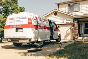 Steam cleaning services in Edmonton