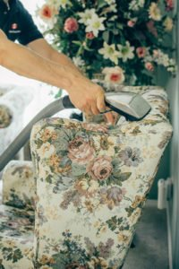 Furniture cleaning process in Edmonton